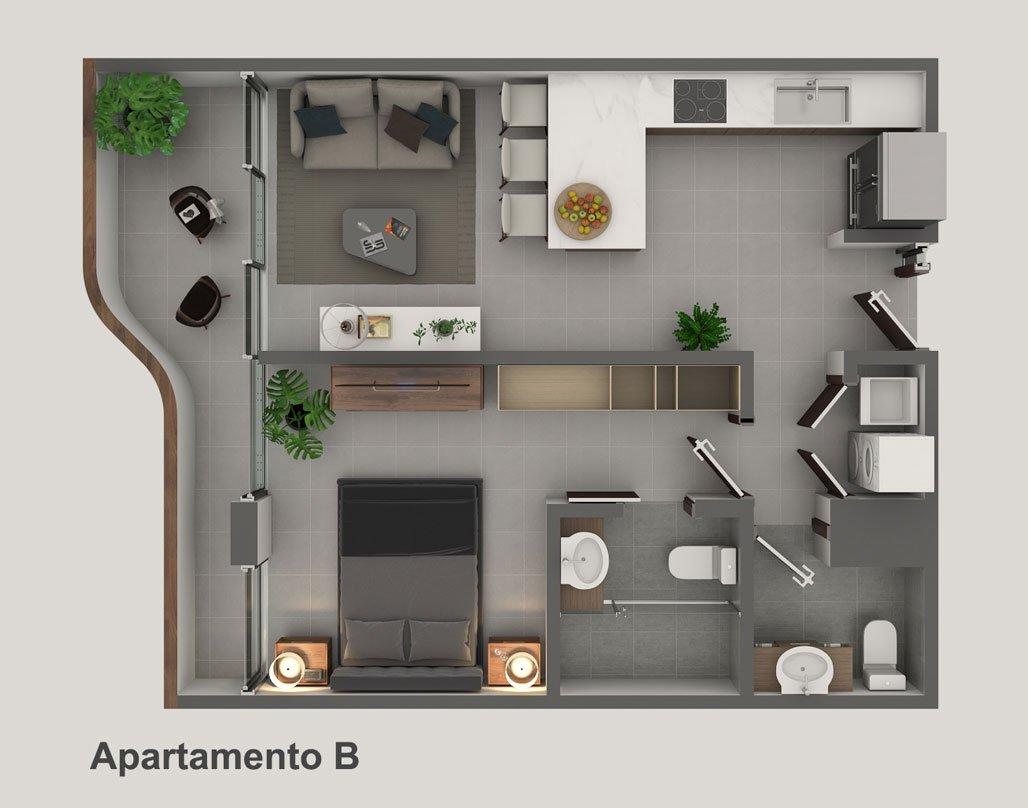 Apartamento-B