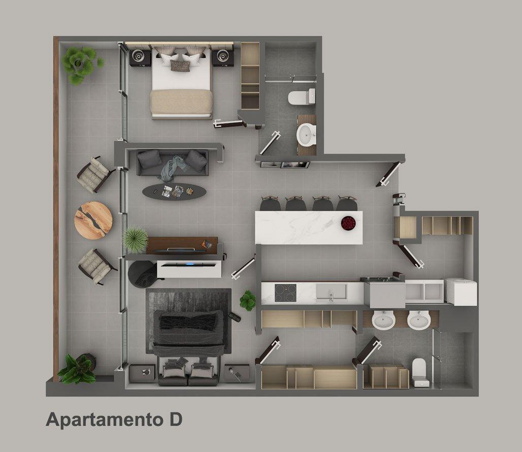 Apartamento-D